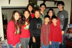 Christmas with the Gee Family, 2010