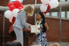 Morgan's Fifth Grade Promotion