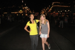 Disneyland with Kimberley