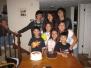Birthday Dinner with Gees, Nov. 2009