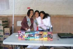 Girl Scout Cookie Booth 2010