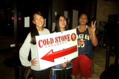 ESHS Girls Basketball Cold Stone Fund Raiser